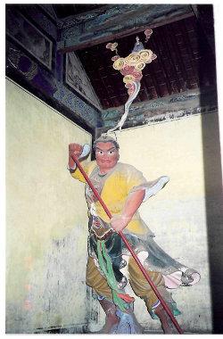 Принц Кимнара древняя статуя